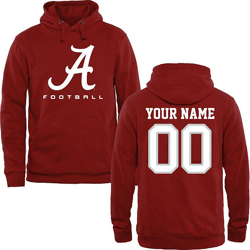 Alabama Custom Football hoodie