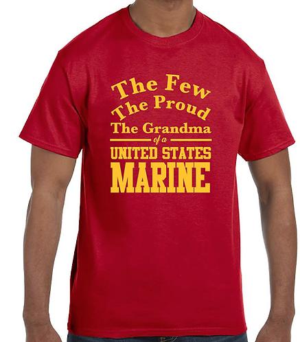 Marine Grandma Long Sleeve