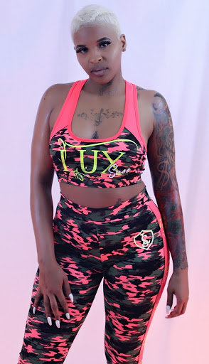LuxSass 2-Piece Neon Track Suit