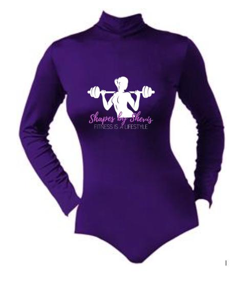 Bloomers 100% Nylon T-Neck Bodysuit