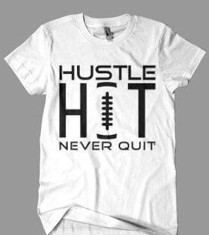 Hustle Hit-Never Quit Tee