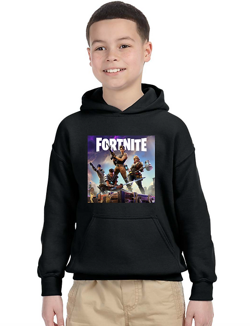 Fortnite Cover Youth Hoodie