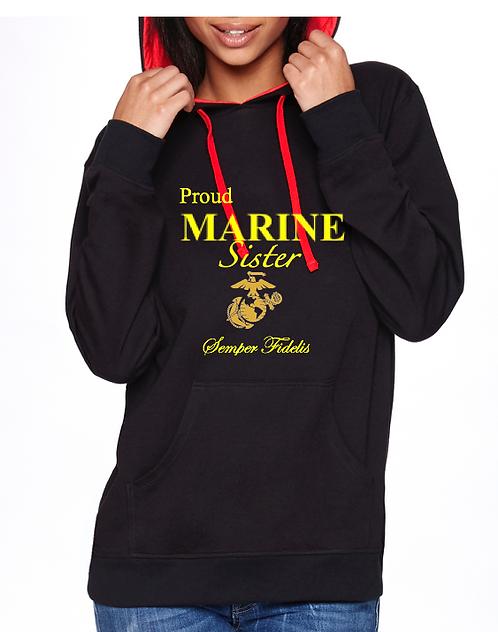 Next Level-Marine Hoodie