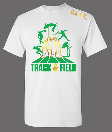 D.A.T.E Track and Field Flex Tee