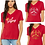 Thumbnail: Ladies - Relaxed Fit V-Neck - T.F.P. Logo Tee