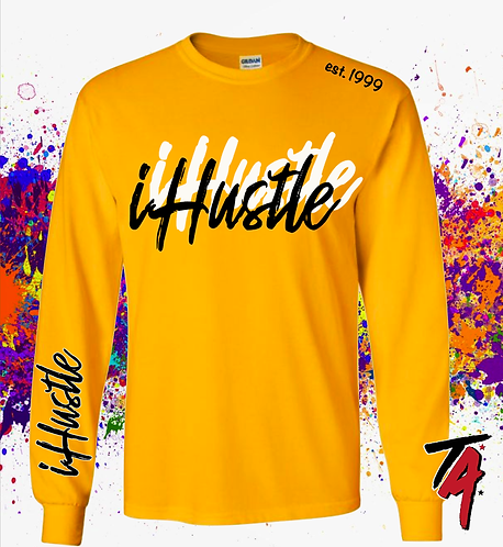 iHustle - Paint The Streets Tee