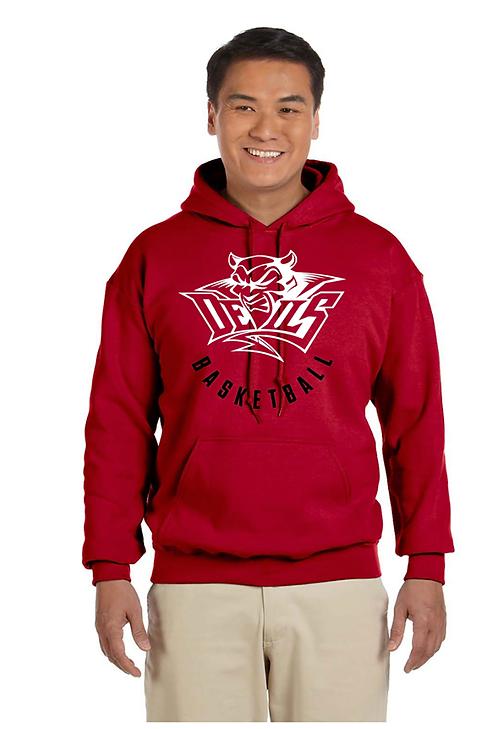 Red Devils Basketball Hoodie