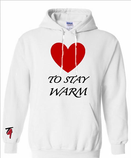 """LOVE"" To Stay Warm Hoodie"
