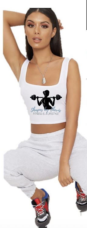 Shapes By Shevis Crop Tank