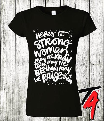 Strong Women Tee