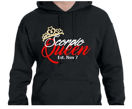 Zodiac Queen Hoodie