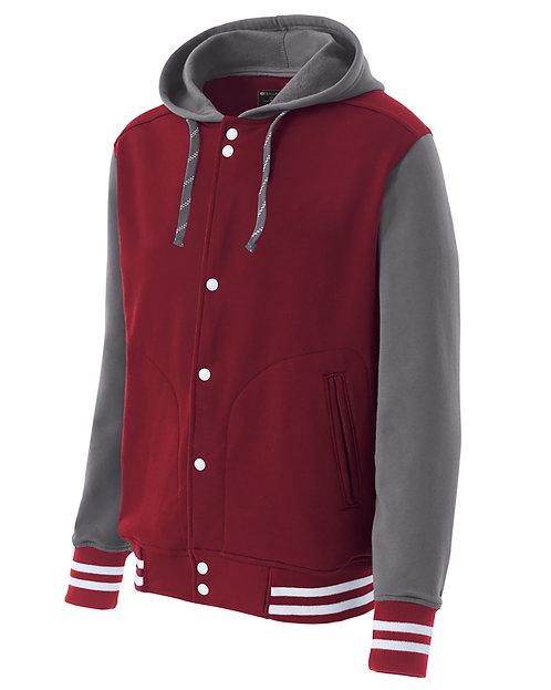 Holloway Youth Poly/Cotton Fleece Accomplish Jacket