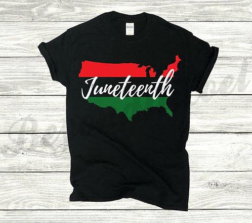 US Juneteenth Tee