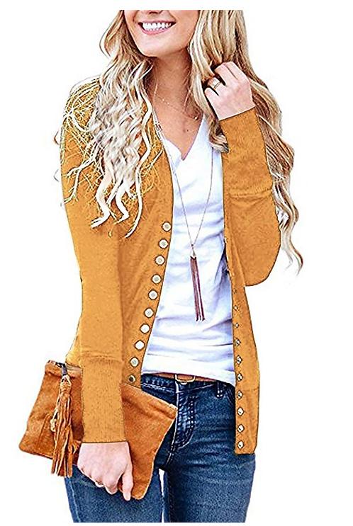 Heart- Women's Full Arm Cardigan