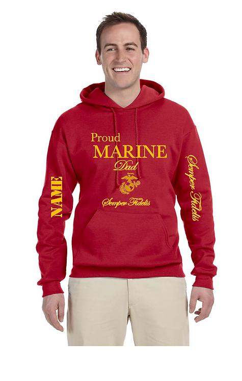 Proud Marine *** Hoodie