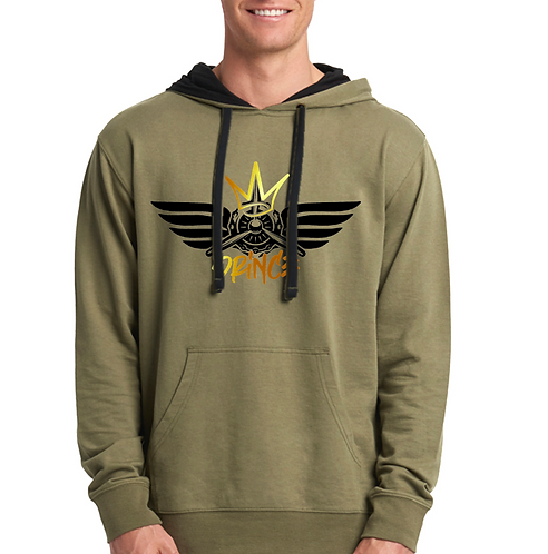 The Flying Prince Unisex French Terry Pullover Hoody