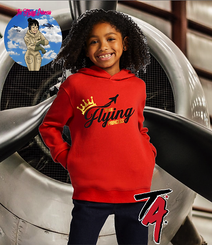 The Flying Princess Youth Hoodie