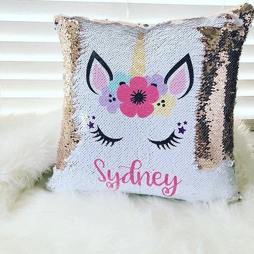 Unicorn Sequin Pillow Case