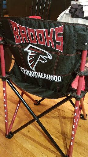Custom Falcons Chair