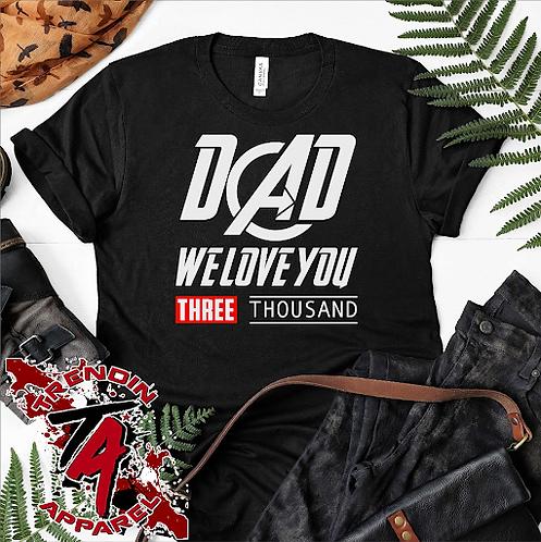 DAD Three Thousand Tee