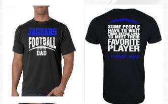 Jaguar Football Dad Tee