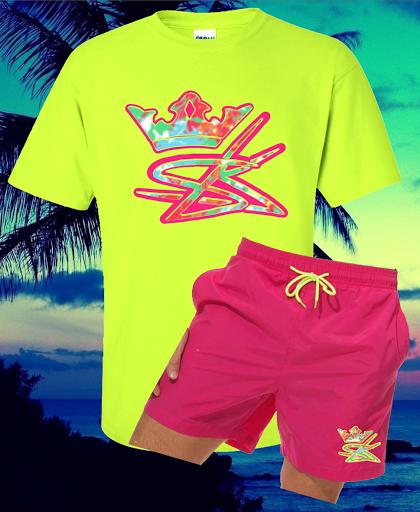 SelfMade Surf & Board Short Set