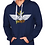 Thumbnail: The Flying Prince Unisex French Terry Pullover Hoody