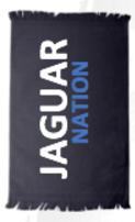Jaguars Black Rally Towel