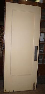 One Panel Push Door