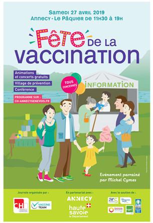 CHU d'Annecy - Journée de la vaccination