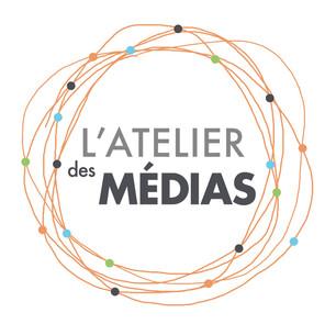 Logo de l'espace de coworking l'Atelier des Médias