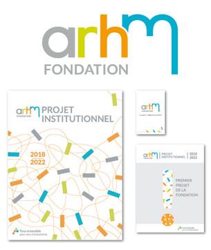 Nouvelle Identitée visuelle Fondation ARHM