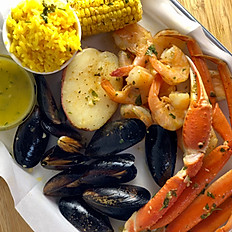 Seafood Triple Tray