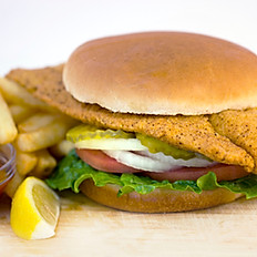Fish Sandwich + 1 Side