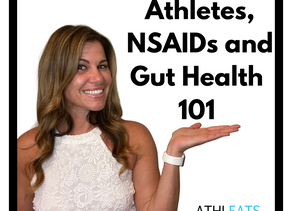 Athletes, NSAIDs & Your Gut Health