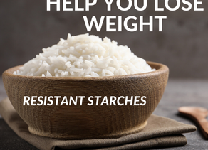 Carbohydrates to help you lose weight & improve gut health...meet Resistant Starches.