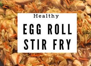 """Healthy """"egg roll"""" Stir Fry recipe"""