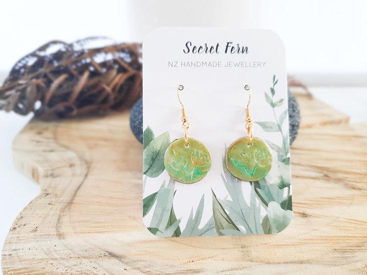 Mini Floral earrings