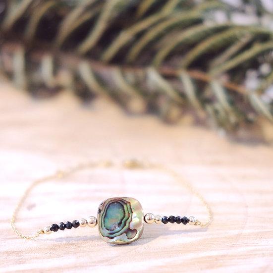 Pāua shell Bracelet