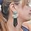 Thumbnail: Boho girl earrings - 2 styles