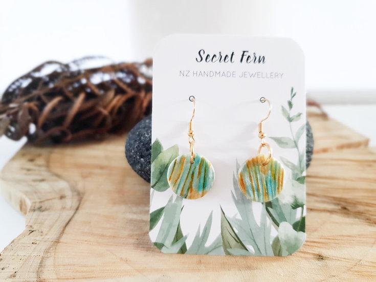 Mini shells earrings