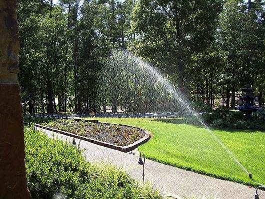Installing underground sprinklers Amherst, VA