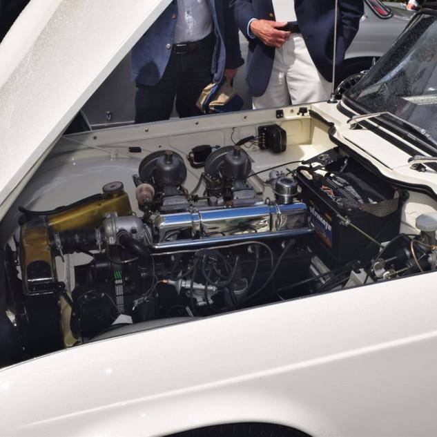 1962 Triumph TR4 Concours d'Elegance at