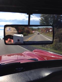 Dan with Bill M in the mirror