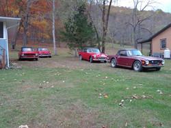 Cars - Bill Hall, Dan Blackwood, Barry McCoy, Kevin Worthy