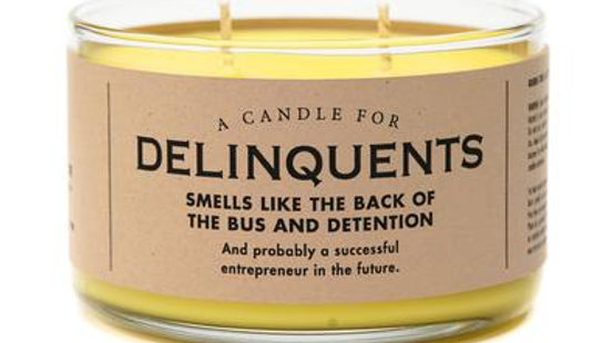 Whiskey River Candles - Delinquents