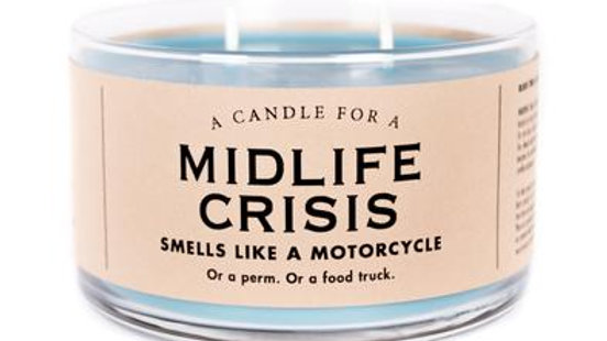 Whiskey River Candles - Mid Life Crisis