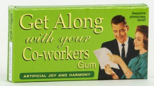 Blue Q Gum - Get Along with your Co-Workers