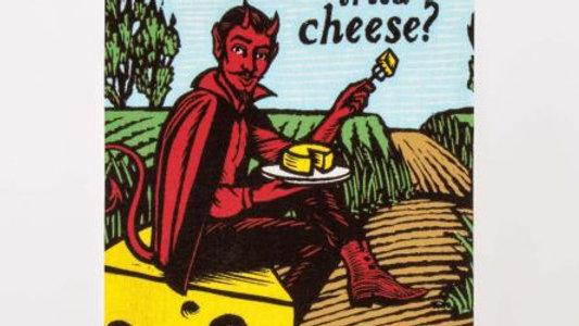 Blue Q - Devil/Cheese Dish Towel