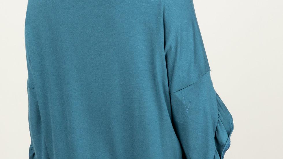 Ruffle 3/4 Sleeve Top
